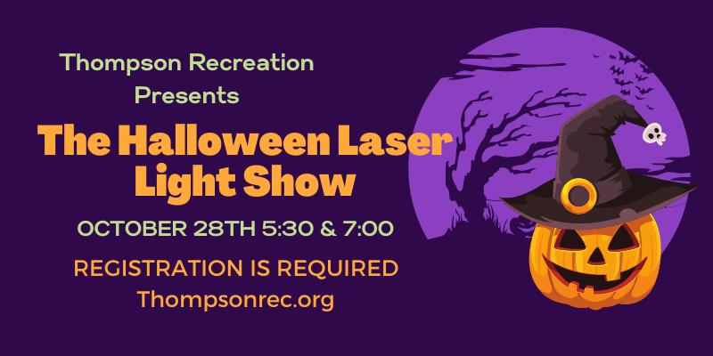 The Halloween Laser Light Show